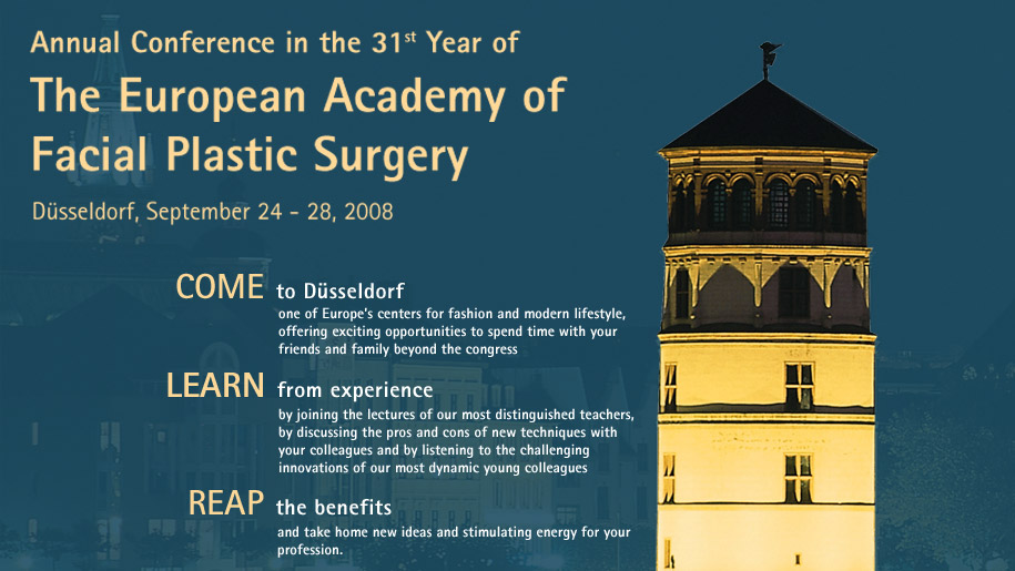 Annual Conference in the 31st Year of The European Academy of Facial Plastic Surgery